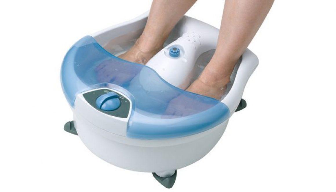 appareil bain pieds
