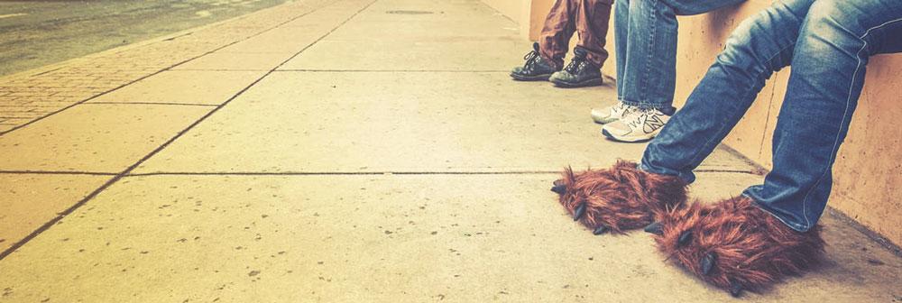 chaussons chauffants