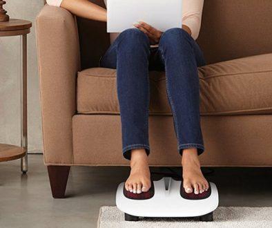 [Test] : Appareil de massage pour pieds Shiatsu HoMedics : pour ceux qui aiment la perfection