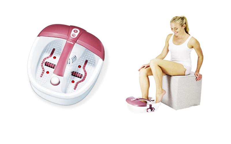pour se d tendre sainement et facilement l appareil de bain massage pieds fb 35 beurer pied zen. Black Bedroom Furniture Sets. Home Design Ideas