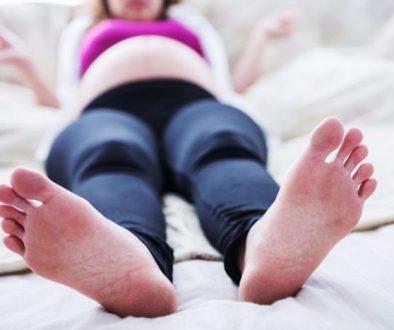 pieds grossesse