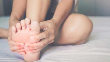 crampes pieds